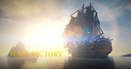 ~H.M.S VICTORY 1:1 full interior 1805 replica~ Minecraft Map & Project