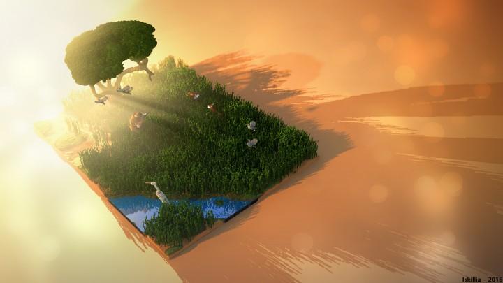 Beautiful render by Iskillia