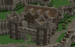 Stonavin Barracks Minecraft