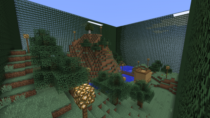 SkyBlock PVP arena