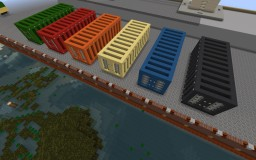 Simple Shipping Containers Minecraft Project