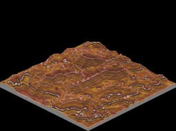 Custom Mesa Terrain Minecraft Map & Project