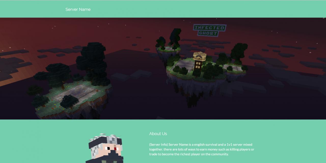 Minecraft Server Template Minecraft Project