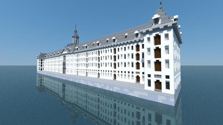 Oost Indisch Zeemagazijn Amsterdam Minecraft Project