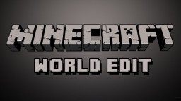 How to use WorldEdit Minecraft