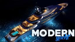 modern yacht / yacht moderne -~-by asunoir-~- Minecraft Map & Project