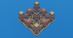 Terracotta Square Minecraft Map & Project