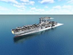 Córdoba-class amphibious assault ship: Super Z3R0 Project Minecraft Map & Project