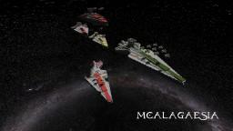 Star Wars Venator-class Star Destroyers in Minecraft Minecraft Map & Project