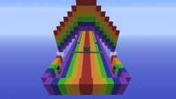 Rainbow Lucky Block Race Minecraft Project