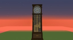 Grandfather Clock Parkour Minecraft Map & Project