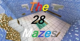 The 28 Mazes Minecraft Map & Project
