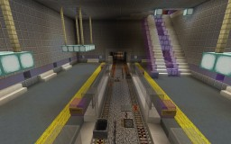 Automatic metro station Minecraft Map & Project