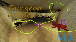 Dungeon Attack lvl 2: The Desert Dungeon Minecraft Map & Project