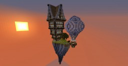 Steampunk Heavenly Island Minecraft Map & Project