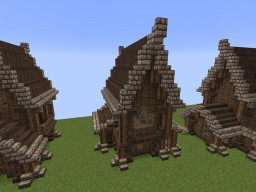 Medieval houses Minecraft Project