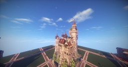 Castillo Cefiro ~ Mediterranean Castle [200 Subscriber Plot] Minecraft Project