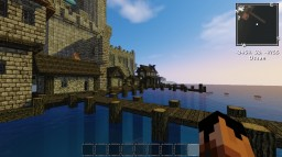 A castle I resenly built form a picture I saw Minecraft