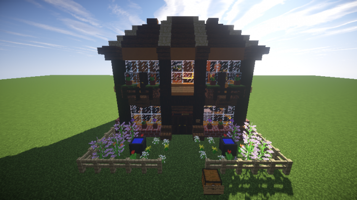 Rustic Cottage (based on 'prince Karel's home) Minecraft Project