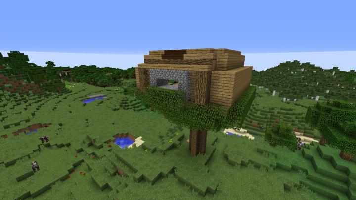 Treehouse Minecraft Build