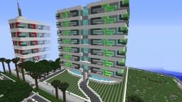 Modern hotel 2 Minecraft Map & Project