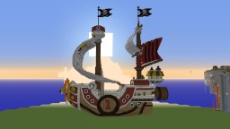Thousand Sunny - One Piece Minecraft Project
