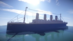 RMS Titanic (Bigger scale) + download Minecraft Map & Project