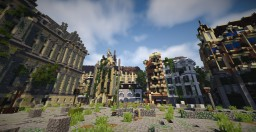 Abandoned Amsterdam - Pvp Map Minecraft Project