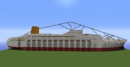 S.S. Canberra Minecraft Map & Project