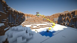 Parkour Map: SnowParkour Minecraft Map & Project