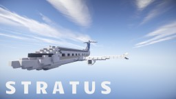 S T R A T U S | private jet by TwizZted_uP Minecraft