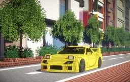 Mazda RX-7  FD3S Minecraft Project