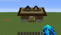Detailed Wooden House Minecraft Map & Project