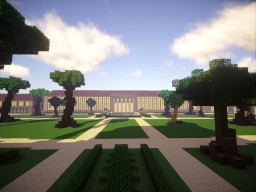 New Reich Chancellery (Welthauptstadt Germania Project) Minecraft Project