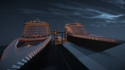 Venice of the Seas v8.6 (Full Passenger Interiors and Terminal) Minecraft Map & Project