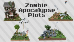 Theme Bundle | Zombie Apocalypse Plots [DOWNLOAD] Minecraft Map & Project
