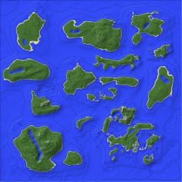 RiverCoast Islands Minecraft Map & Project