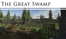 The Great Swamp - Beautiful Custom  Biome/Terrain [Pop Reel!] Minecraft Map & Project