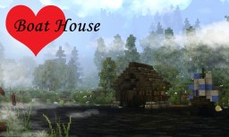Medieval Boat House - #WeAreConquest Minecraft Map & Project