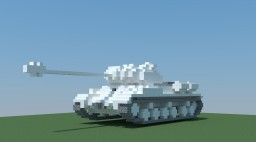 Soviet Heavy Tank IS-2 (4:1) Minecraft Map & Project