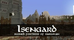 Isengard - Ruined Fortress Minecraft