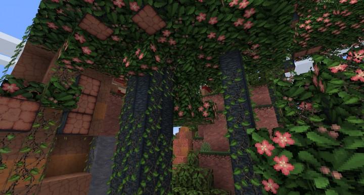 3D vines   random leaves