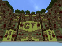Build Of Majoras | GameTürkMC | Build Batte | Natural Themed Minecraft Map & Project