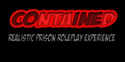 ▻ Contained Prison ◅ ➮ 1.8.9 ➮ » Realistic Prison Roleplay Experience « Minecraft