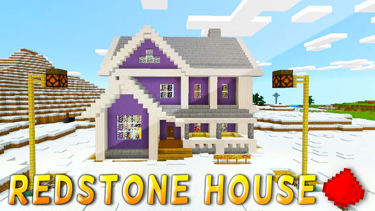 How To Build A Cool House In Mcpe