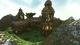 Green domain Minecraft Map & Project