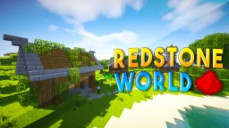 REDSTONE WORLD (w/ Redstone Houses, Redstone Towers, & Hidden Redstone Bases) Minecraft Blog Post
