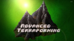 Terraforming Tutorial Minecraft Map & Project