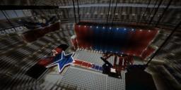 AT&T Stadium Wrestlemania 32 Minecraft Map & Project