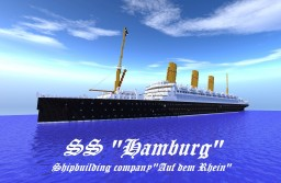 Liner SS Hamburg Minecraft Map & Project